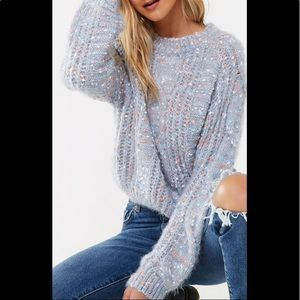Sweaters - Brushed Round Neck Sweater